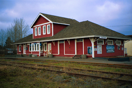 Courtenay Train Station